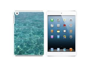 Water - Ocean Waves Snap On Hard Protective Case for Apple iPad Mini - White
