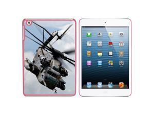 Army Military Helicopter Snap On Hard Protective Case for Apple iPad Mini - Pink