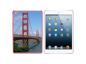 Golden Gate Bridge in San Francisco CA Snap On Hard Protective Case for Apple iPad Mini - Pink