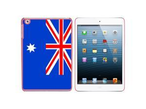 Australia Flag Snap On Hard Protective Case for Apple iPad Mini - Pink - OEM