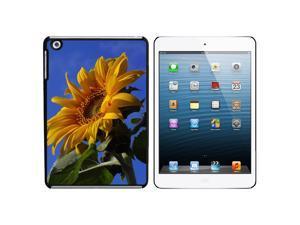 Sunflower Against Blue Sky Snap On Hard Protective Case for Apple iPad Mini - Black