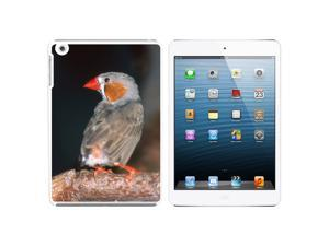 Australian Zebra Finch - Bird Snap On Hard Protective Case for Apple iPad Mini - White