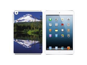 Mount Hood Oregon Pacific Northwest Snap On Hard Protective Case for Apple iPad Mini - White