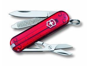 Victorinox Swiss Army Classic SD Pocket Knife, Ruby