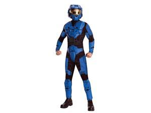 Blue Spartan Adult Costume