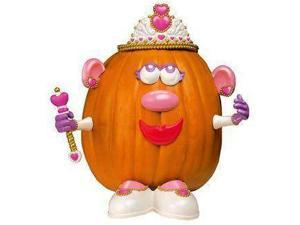 Mrs Potato Head Princess Pumpkin Halloween Decoration