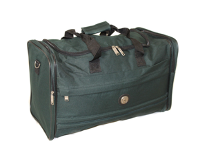"Travelers Club Adventures Club Collection Collapsible 23""  Duffel Bag - Green"
