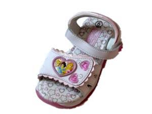 Disney Toddler Girls White Princess Sandals