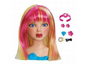 Liv Sophie Styling Head with Wear & Share Wig and Hair Accessories