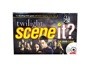 Mattel Twilight Scene It Game With DVD Trivia Questions & Heart Stopping Clips