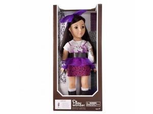"Play Wonder Layla 18"" Doll by Madame Alexander with mix & match clothes Asian"