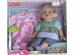 Fisher Price Little Mommy Blond Doll With Clothes Set