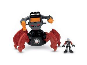 Fisher Price Imaginext Motorized Villain Robot Walking Action & Sounds