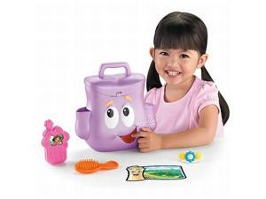 Fisher Price Dora Talking Backpack with Phone Brush & Map Phrases and Song