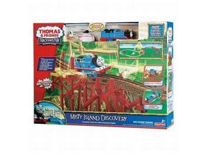 Fisher Price Thomas Misty Island Discovery Trackmaster Motorized Train Set