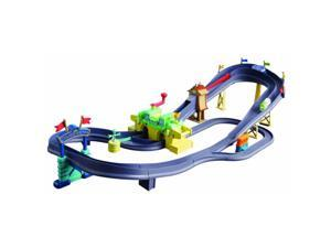 Learning Curve Chuggington Rev 'n Race Railway Train Set Chugger Championship