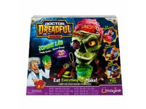 Doctor Dreadful Zombie Lab Create & Eat Gross Treats Candy and Drink Making Kit