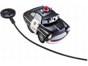 Disney Cars Rip Stick Racers Sheriff Police Car Rippin Wheelie Action