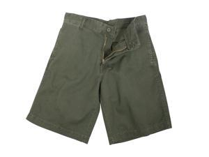 Rothco Vintage 5 Pocket Flat Front Shorts in Olive Drab