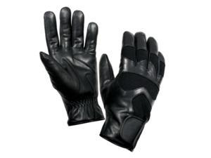Rothco Cold Weather Leather Shooting Gloves in Black, Medium