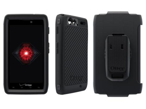 OtterBox Defender Black Case for the Motorola RAZR MAXX HD 77-22902