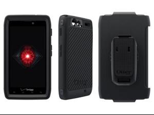 OtterBox Defender Case for Motorola Droid RAZR Maxx HD (Black/Black)