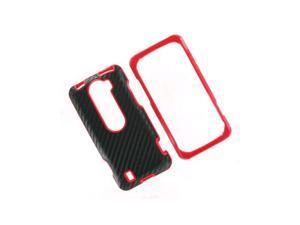 OEM HTC MyTouch Slide 4G Hard Shell Case - Black/Fire Red
