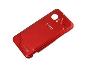 OEM HTC DROID Incredible 6300 Standard Battery Door (Red) (Bulk Packaging)