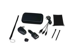 CTA DS-9KB NINTENDO DSI/DS 9-IN-1 TRAVEL KIT (BLACK)