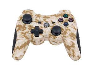 DREAMGEAR DGPS3-3854 PLAYSTATION(R)3 SHADOW 6 WIRELESS CONTROLLER (RUBBERIZED DESERT CAMOUFLAGE)