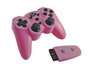 DREAMGEAR DGPN-558 PLAYSTATION 2 MAGNAFORCE WIRELESS CONTROLLER (PINK)