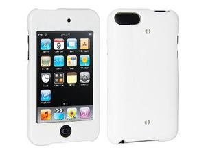 Amzer Polished White Snap On Crystal Hard Case For iPod Touch 3rd Gen,iPod Touch 2G