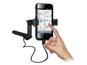 Amzer® Lighter Socket Phone Mount with Charging & Case System For Huawei Ascend II M865