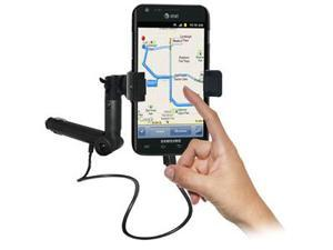 Amzer® Lighter Socket Phone Mount with Charging & Case System For Samsung Galaxy S II Skyrocket SGH-I727