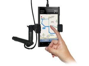 Amzer® Lighter Socket Phone Mount with Charging & Case System For Nokia Lumia 900