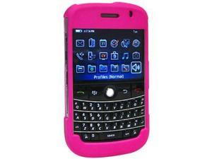 Amzer Polished Hot Pink Snap On Crystal Hard Case For BlackBerry Bold
