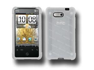 Amzer Silicone Skin Jelly Case - Lilly White For HTC Aria