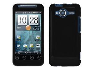 Amzer® Injecto Snap On Hard Case - Honey Black For HTC EVO Shift 4G
