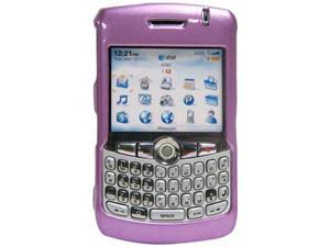 Amzer Polished Purple Snap On Crystal Hard Case For BlackBerry 8320,BlackBerry 8330