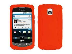 Amzer Silicone Skin Jelly Case - Orange For LG Thrive,LG Phoenix