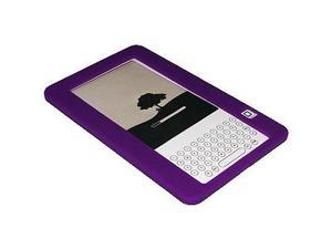 Amzer® Silicone Skin Jelly Case - Purple For Amazon Kindle 2