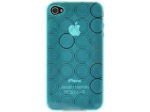 Amzer Circle TPU Skin Case - Blue