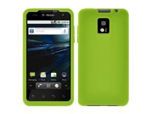 Amzer Silicone Skin Jelly Case - Green For LG G2x