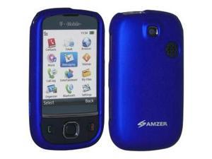 Amzer Rubberized Blue Snap on Crystal Hard Case For T-Mobile Tap