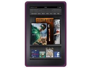 Amzer Silicone Skin Jelly Case - Purple For Amazon Kindle Fire