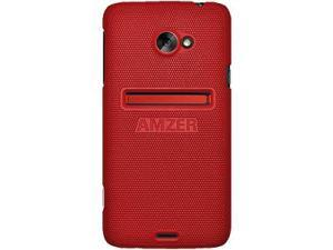 Amzer Snap On Case - Dark Red For HTC EVO 4G LTE