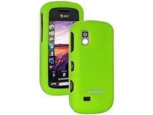 Amzer Silicone Skin Jelly Case - Green For Samsung Solstice A887