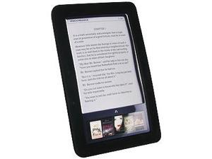 Amzer Silicone Skin Jelly Case - Black For Barnes and Noble Nook