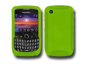 Amzer Silicone Skin Jelly Case - Green For Blackberry curve 8530,BlackBerry Curve 3G 9300