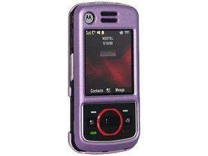 Amzer Polished Purple Snap On Crystal Hard Case For Nextel i856